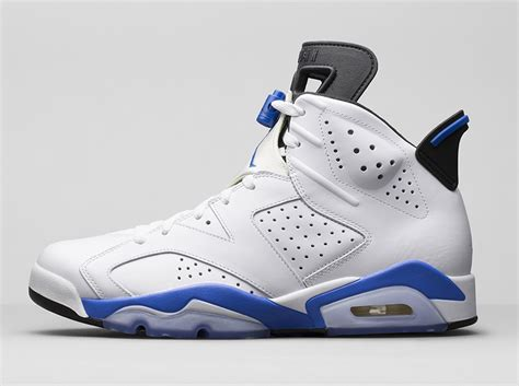retro le air 6 sport blue le site de la sneaker