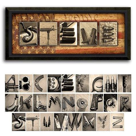 Letter Guns 86 Best Images About Decorating With Letters On Personalized Gifts Pieces And