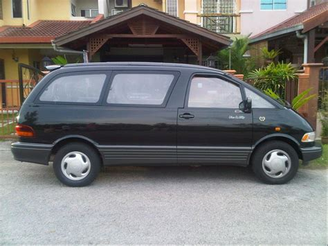 1991 Toyota Previa 1991 Toyota Previa Information And Photos Momentcar