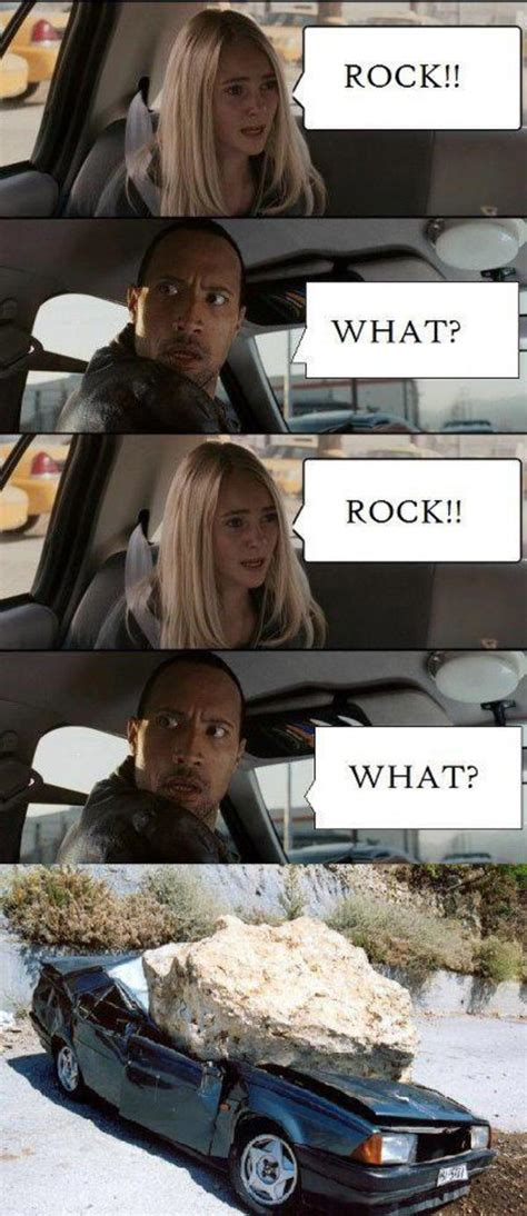 The Rock In Car Meme - image 507002 the rock driving know your meme