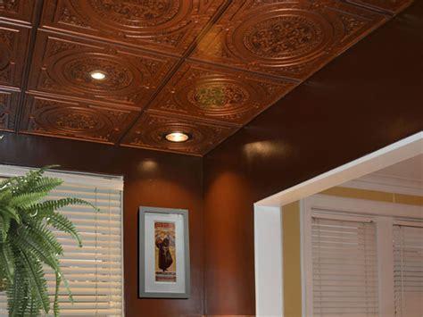 Architectural Ceiling Tiles Steunk Faux Tin Ceiling Tile 24 X24 225 Dct