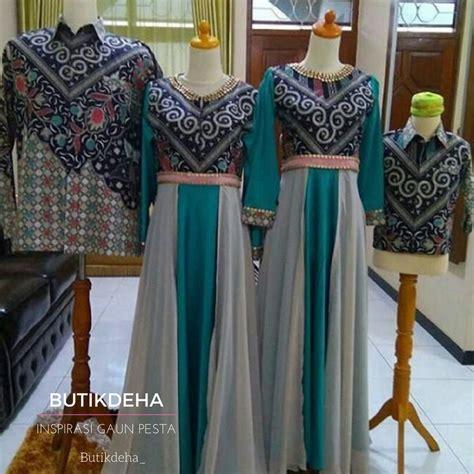 Gaun Gamis Modern 2 Biru gaun biru butik jahit pesan jual baju gaun