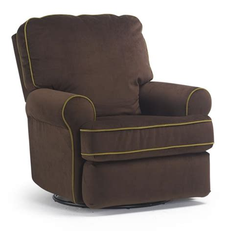 Upholstered Recliners Chairs by Best Chairs Tryp Upholstered Swivel Glider Recliner