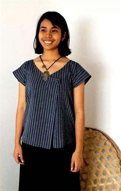 Baju Top Blouse Model Casual Pink Style Impor 104 best batik images on batik fashion batik
