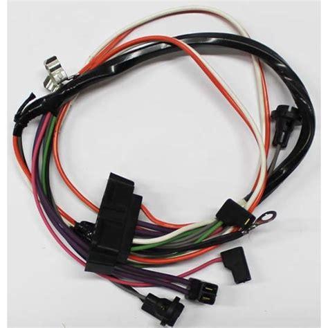 1968 camaro wiring harness m h electric 11945 center console auto trans wire harness