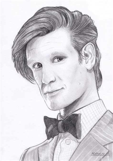how to draw matt smith doctor who doctor who cartoon drawings bing images matt smith