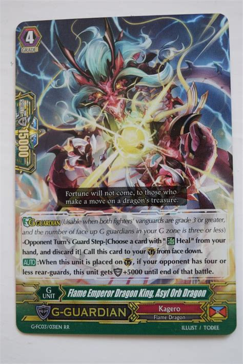how to make cardfight vanguard cards cardfight vanguard fighters collection 2016 vge g fc03