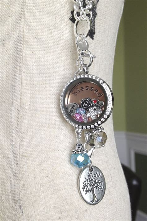 Origami Owl Large Silver Locket With Crystals - 110 best images about origami owl living lockets on
