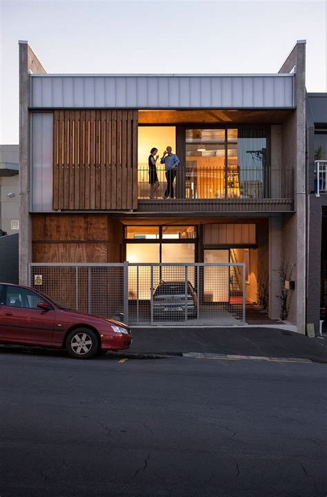 industrial style house  auckland exhibiting  clean