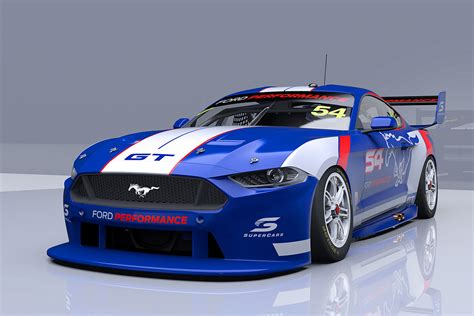 Ford Supercar by Work Underway On Mustang Supercar Supercars