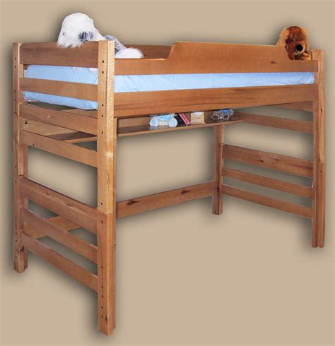 bed lofts high loft bed loft bed single pine original highrise
