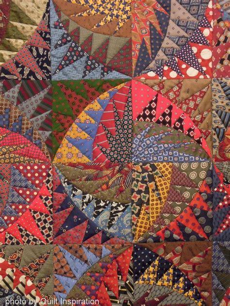 Silk Tie Quilts Patterns by 1000 Ideas About Necktie Quilt On Neckties