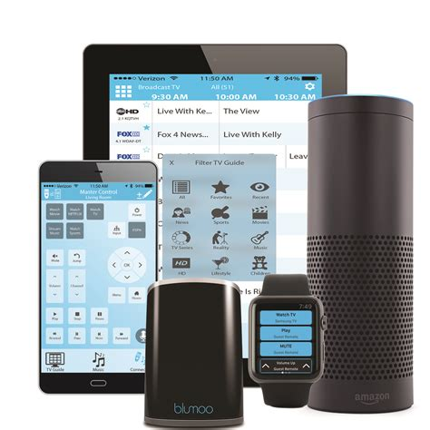 blumoo amazon echo blumoo universal remote and amazon echo control your