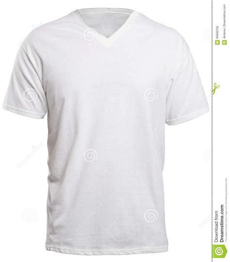 blank v neck t shirt template white v neck shirt mock up stock image image of front