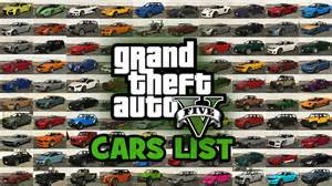 gta5 new cars gta 5 cars list vehicles list cars in the grand theft