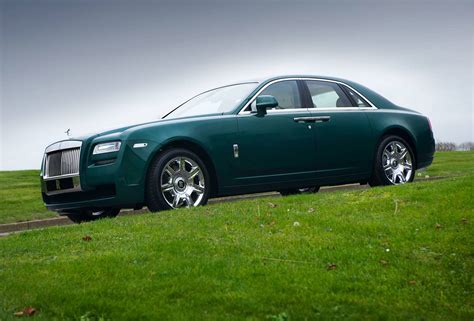 green rolls royce photo of the day brooklands green rolls royce ghost