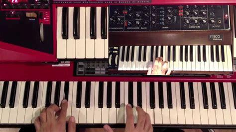tutorial piano funk spring yard zone funk chords keyboard piano tutorial