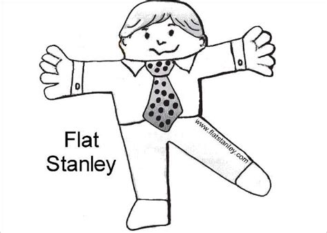 Flat Stanley Template Printable by 45 Flat Stanley Templates Free Creative Template