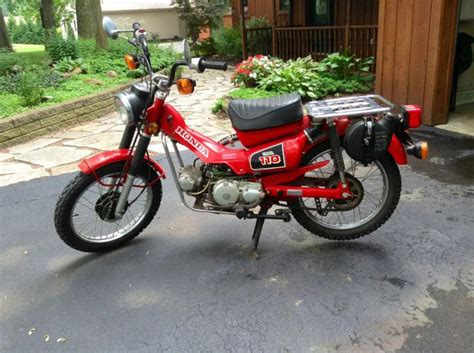 honda motorcycles for sale by owner andrew motoblog 1984 ct 110 honda vintage motorcycle for sale on 2040 motos