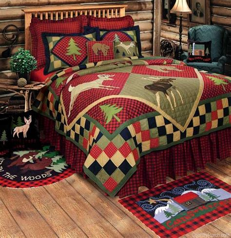 cabin bedding sets cheap lodge quilt and cabin bedding