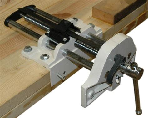 wood bench vice woodworkers bench vise the must have woodworking tool