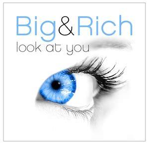 you bid look at you big rich song