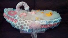 how to make a bathtub diaper cake 1000 images about my baby creationzzzz on pinterest