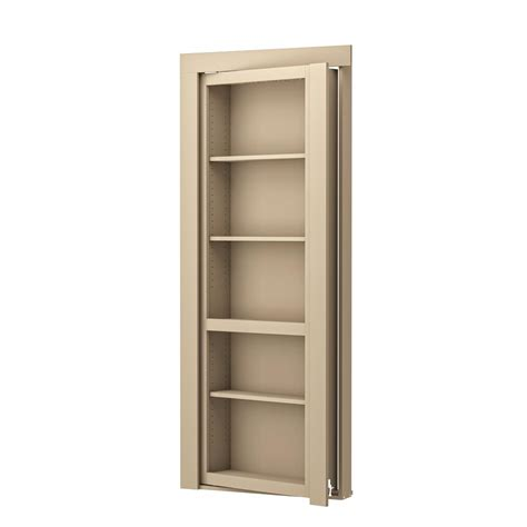 Bookcase Closet Doors Murphy Door 32 In X 80 In Unassembled Unfinished Paint Grade Flush Mount Bookcase Wood Single