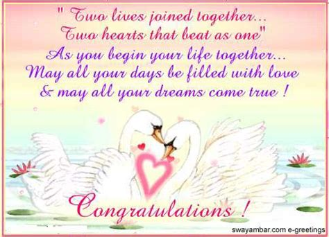 Wedding Wishes Quotes For Cards by Wedding Congratulations Wedding Congratulations
