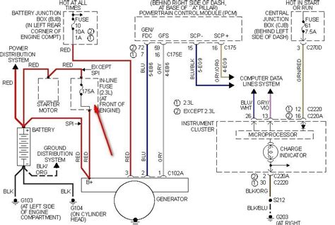 2002 ford focus ignition wiring wiring diagrams