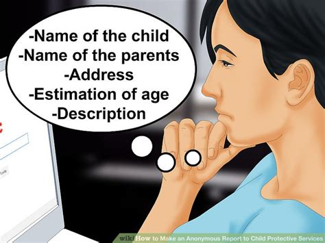 Child Protective Services Records How To Make An Anonymous Report To Child Protective Services