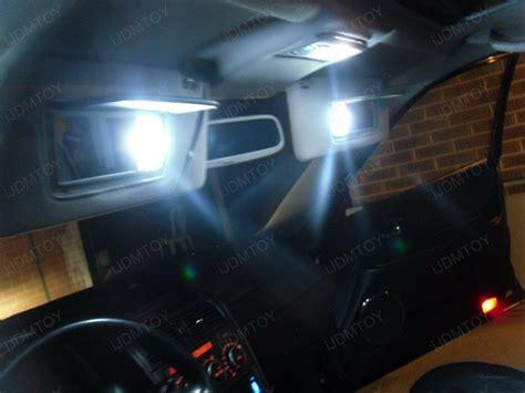 sun visor led vanity mirror lights installed on lexus