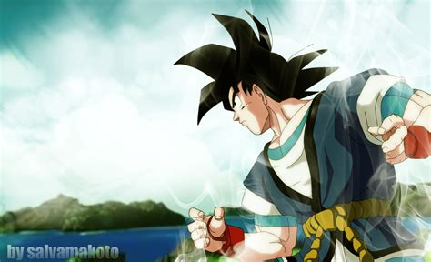 wallpaper dragon ball absalon tributo a goku absalon by salvamakoto on deviantart