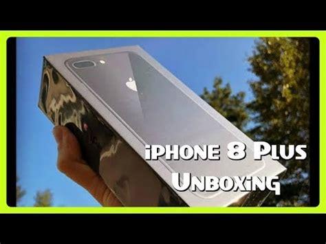 iphone 8 plus unboxing live