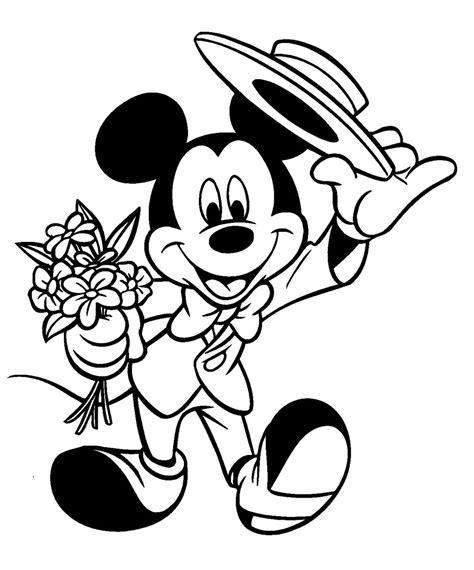 imagenes para colorear mickey dibujos para colorear de mickey mouse dibujos de mickey