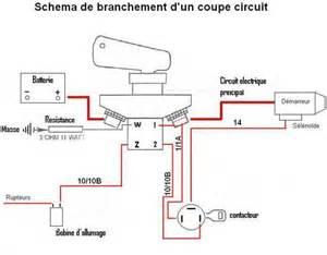 interrupteur coupe circuit automobile fia