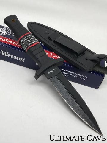 smith wesson swhrt9b black hrt boot knife smith wesson fixed blade knife new hrt boot knife swhrt9b