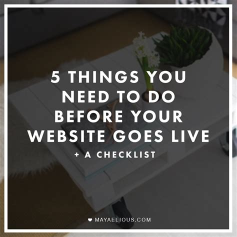 5 Places Youd Want To Be by 5 Things You Need To Do Before Your Website Goes Live A