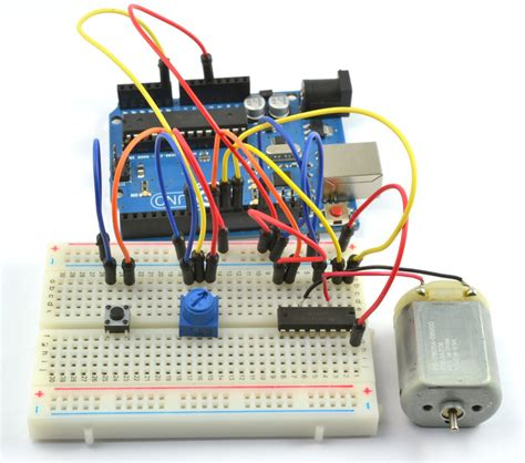 arduino dc motor direction overview arduino lesson 15 dc motor reversing