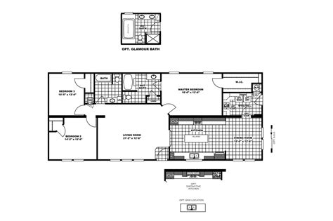 100 clayton homes rutledge floor plans middleton