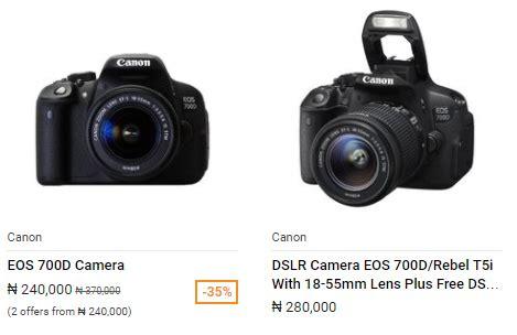 canon 700d best price canon 700d price in nigeria best prices in nigeria 2018