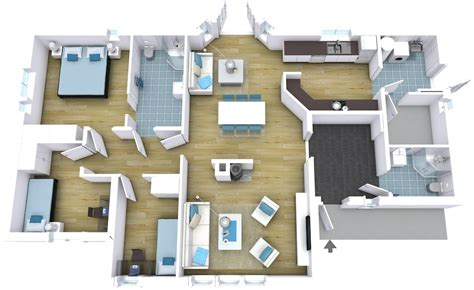 Floor Plan For Homes by Professional Floor Plans Roomsketcher