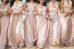 blush bridesmaid dresses prom dresses