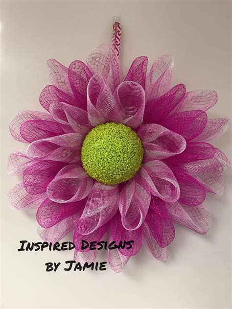 22000 Pink Flower Mesh 297 best mesh flowers images on flower crown sunflower wreaths and deco mesh wreaths