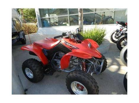 2004 honda sportrax 250ex honda sportrax 250ex motorcycles for sale