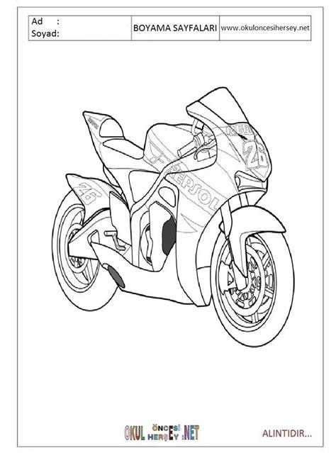 motor boyama sayfalari