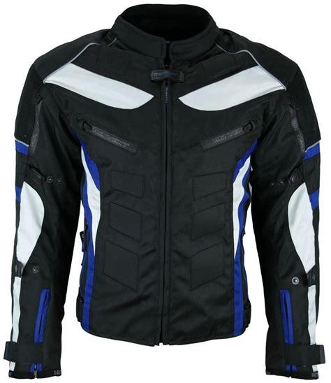 Motorradbekleidung 3xl by Heyberry Textil Motorrad Jacke Motorradjacke Schwarz Blau