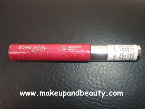 Lipgloss Oriflame oriflame power shine lip gloss with 3d light reflecting