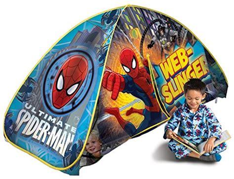 spiderman bed tent awardpedia playhut spiderman bed tent