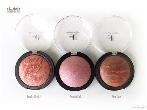 E L F Baked Blush e l f studio baked blush review makeupfu